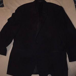 Calvin Klein Black Tuxedo Suit Jacket